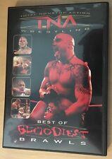 TNA Best of The Bloodiest Brawls DVD AJ Styles Rare OOP impact 2 disc Roh Wwe