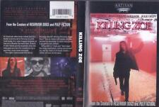 DVD: KILLING ZOE...ERIC STOLTZ-JULIE DELPY