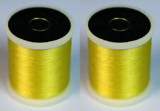 Danville's Flymaster Plus 6/0 waxed 2 pack, Yellow
