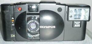 Olympus XA3 DX point & shoot film camera w/ A11 flash zuiko 35mm f3.5 lens