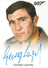 James Bond Archives 2015, George Lazenby 'James Bond' Autograph