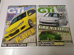 Performance GTI French Car Magazines x 2 May/June 2006 And July/August 2006