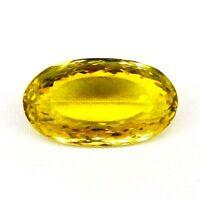 TOP LEMON CITRINE : 24,10 Ct Natürlicher Lemon Citrin aus Brasilien