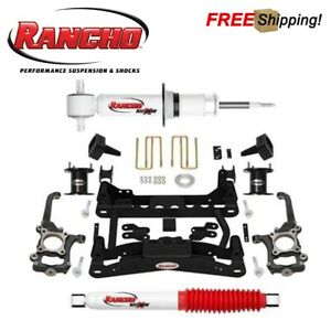 "Rancho RS66519B 6"" Suspension Lift Kit For 2010-2014 Ford F150 4WD"