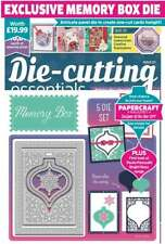 Die Cutting Essentials Magazine Issue 57 with Memory Box Bauble Die Set