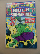 Marvel Super Heroes 44 . Hulk / Sub - Mariner . Marvel 1973 - FN  +