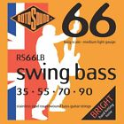 Rotosound RS66LB Swing Bass 66 Stainless Steel Bass Guitar Strings 35-90 for sale