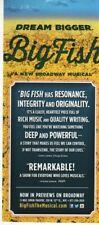 Big Fish Broadway handbill musical Neil Simon Theatre flyer flier brochure Nyc