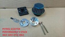 Go Ped BENZINA SCOOTER RACING 44 mm Filtro dell'aria V PILA G2D G23LH 23cc 49cc DR