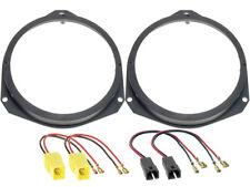 Lautsprecherringe+Kabeladapter für Fiat Grande Punto Front Lautsprecher 165mm