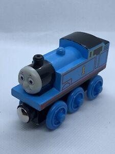 Thomas & Friends Wooden Railway THOMAS 2003 Train Engine Car NO STRIPES