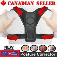 Adjustable Posture Corrector Upper Back Shoulder Support Brace Belt Strap Brace