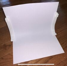 Photography Backdrop White Background Sweep Stand Kit For Paper Background
