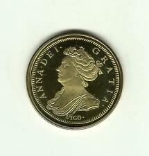 Great Britain ANNE VIGO FIVE GUINEAS- Museum Collection- Proof Gold Plated Coin