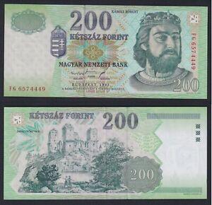 Ungheria 200 forint 1998 SUP/AU  A-01