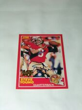 99 Score 10th Year Anniversary Steve Young 49ers Auto Card #212 - 73 / 1989