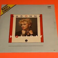 MADONNA HOLIDAY LUCKY STAR GERMANY 12 RARE 1983 ORIGINAL