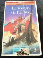 Pocket French Book Livre Dont Vous Êtes le Héros Le Voyage de L'effroi
