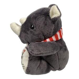 "Ronald McDonald House Charities McDonald's Rhino Soft Toy Approx 8"" Tall"