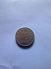 10 ore Denmark 1986 coin Danmark free shipping