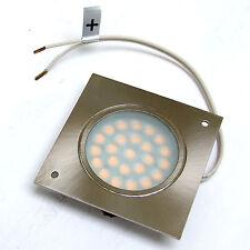 DOWNLIGHTER 24 LED LAMP 65mm SQUARE 12V 1.5 WATT WARM WHITE  for BOAT CARAVAN