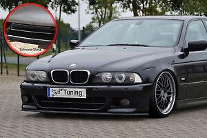 Frontspoiler aus ABS passend für BMW 5er E39 M5 M-Paket ABE schwarz glänzend