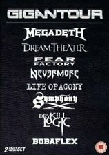 Gigantour - Megadeth Dream Theater Nevermore Life of Agony 2DVD NEU OVP