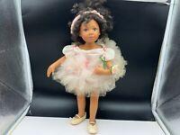 Pamela Erff Künstlerpuppe Porzellan Puppe 38 cm. Limitierte Auflage. Top Zustand