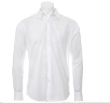Van Heusen Slim Fit White Business Shirt Size 42 Sleeve 90 (Longer sleeve)