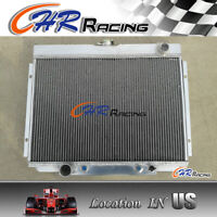 3-ROW Full Aluminum RadEx Radiator For 64-66 Ford Mustang i6 V8