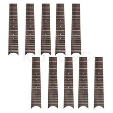 Ukulele Rosewood Fingerboard Fretboard for 6 String 28 Inch Ukelele Parts 10 Pcs