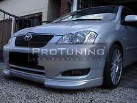 For Toyota E12 Front Bumper spoiler lip Valance bumper splitter Skirt Chin trd