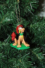 Disney Pluto Fireman, Fire Man Christmas Ornament