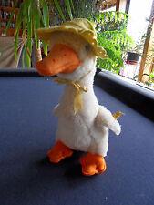 Steiff duck goose Ean 4908/25 button flag stuffed animal Germany 543