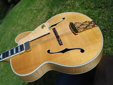 1996 Gibson Citation Archtop Jazz Guitar -Natural Flamed Maple Back and Sides