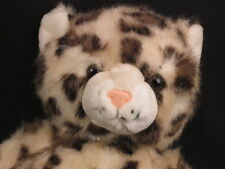 BIG RETIRED PLUSH BUILD A BEAR SPOTTED LEOPARD CUB CHEETAH CAT SOFT STUFFED TOY