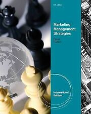 Marketing Management Strategies, International Edition, FERRELL/HARTLINE, Very G