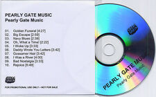 PEARLY GATE MUSIC S/T 2010 UK 10-trk promo test CD Bella Union
