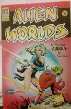 ALIEN WORLDS #2 Dave Stevens Cover