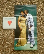KANYE WEST ~ LIMITED EDITION CD ~ 808s & Heartbreak 2008 w 2 Sided POSTER