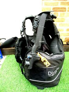 LADIES SEAQUEST DIVA XLT BCD SIZE L UK 16-18 NO WEIGHT POUCHES COMES AS SHOWN