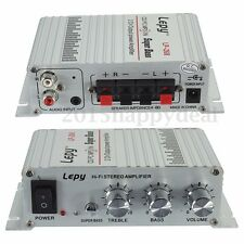 Iutput 12V 2A Output 40W Mini Hi-Fi Stereo Amplifier Pro Radio MP3 Car LP - 268