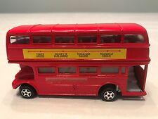 "LONDON TRANSPORT DOBBLE DECKER BUS DIE CAST 4 1/2"" LONG 1:64"
