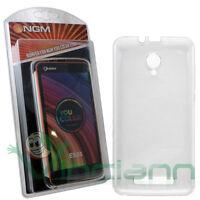 Custodia cover ORIGINALE NGM per You color E501 case TPU trasparente