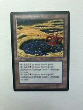 Magic the Gathering Sulfurous Springs Ice Age Near Mint 1X MTG
