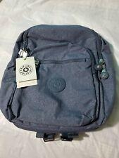 Kipling Women's Seoul Laptop Backpack, Navy blue g twist, One Size