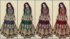 Bollywood Designer Anarkali Suit Indian Ethnic Dress Pakistani Salwar Kameez akt