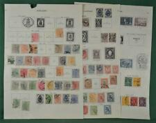 FINLAND STAMPS SELECTION  ON 5 ALBUM PAGES (K104)