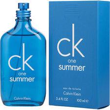 Calvin Klein Ck One Summer 2018 Eau De Toilette Unisex 100 Ml N370550 US af87baa19e