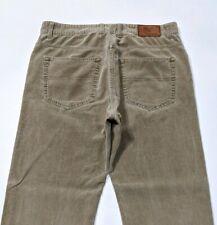 Gant Jason Mens Corduroy Jeans Tan Brown Regular Fit W34 L34 RRP £120